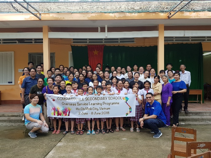 Overseas Learning Programme to Ho Chi Minh City, Vietnam 2018