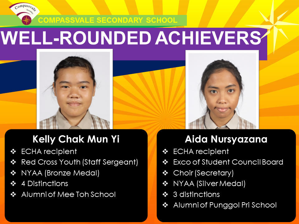 Well-rounded Achievers 2014 - GCE N Level - Part 1