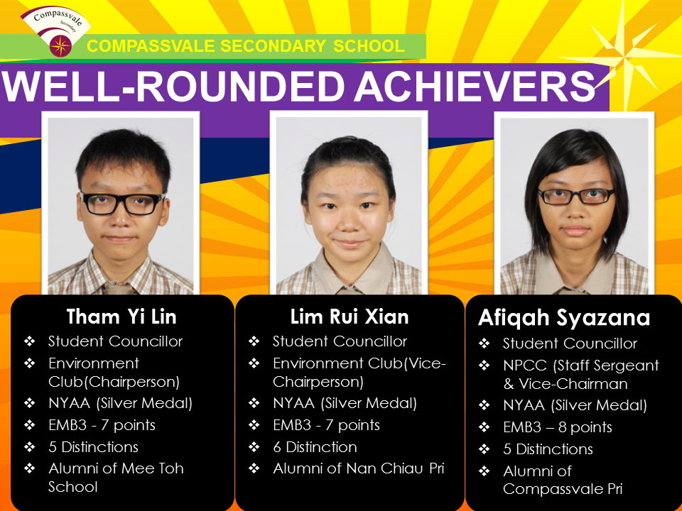 Well-rounded Achievers 2014 - GCE N Level - Part 2