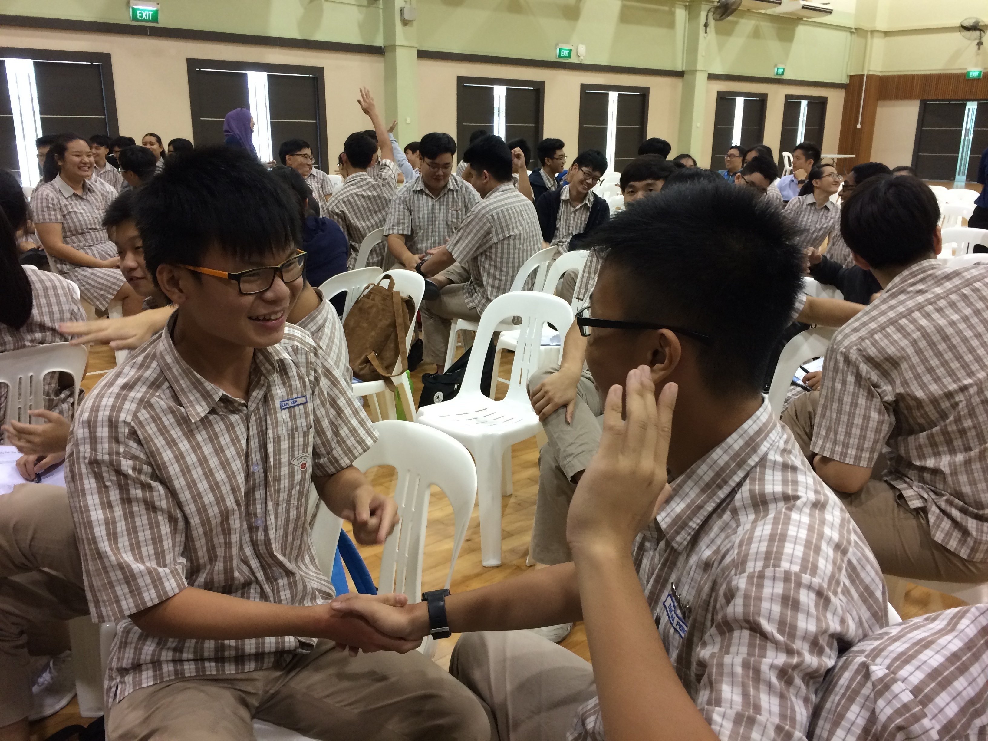 Students Engaged in an Activity on Personal Effectiveness.JPG